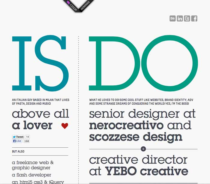 10 Great Sites using Contrast in Web Design - Student Web Hosting